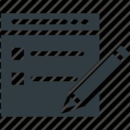 checklist, clipboard, list, paper, task list icon