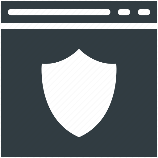 protection, protection shield, security shield, shield, web security icon