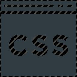 css file, f, file design, file format, storage, web apps icon