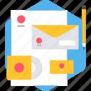 creative, creativity, design, designing, envelope, letter
