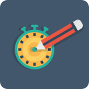 optimization, page, seo, target, time, timer, web icon