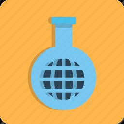 glass, internet, network, research, seo, tube, web icon