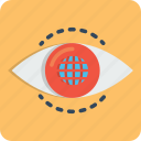 eye, internet, mission, search, view, vision, web