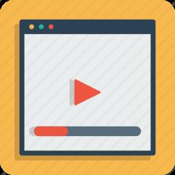 marketing, optimization, page, seo, video, web, youtube icon