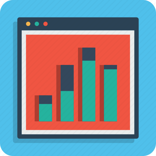 analysis, analytics, chart, column, graph, seo, web icon