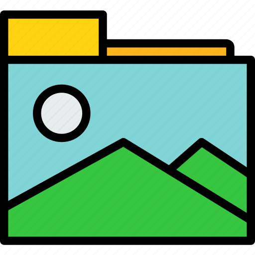Folder, photo, picture icon - Download on Iconfinder
