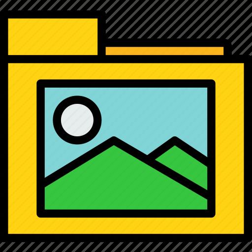 folder, photo, picture icon