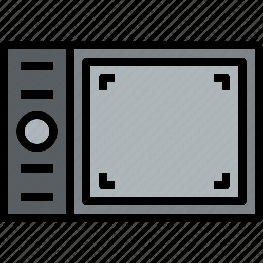 digital, equipment, graphic, pen, tool icon