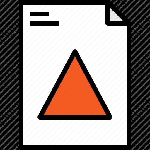 file, graphic, shape icon