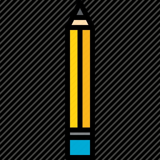 equipment, pencil, school, tool icon