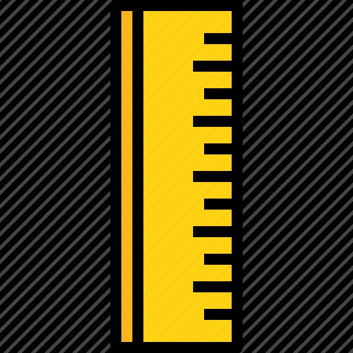 desig, equipment, ruler, school, study, tool icon