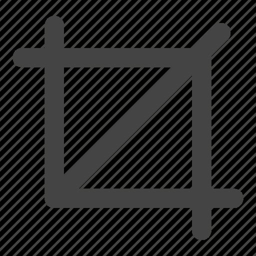 creative, crop, design, edit, measure, modify icon