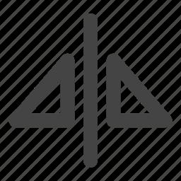 graphic design, mirror icon