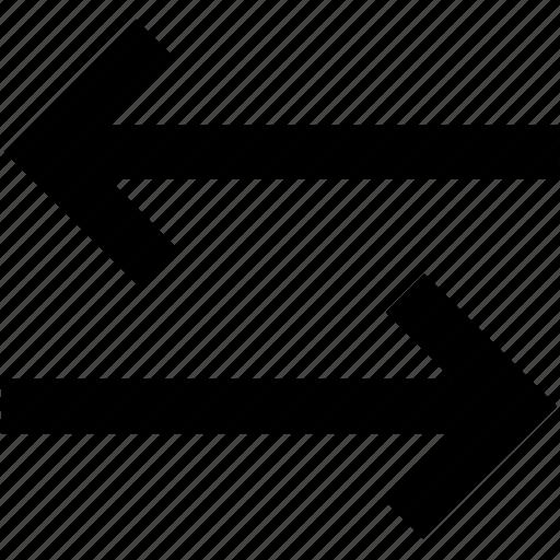 next, previous, reorder, sort icon