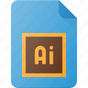 adobe, design, extension, file, illustrator, page, type