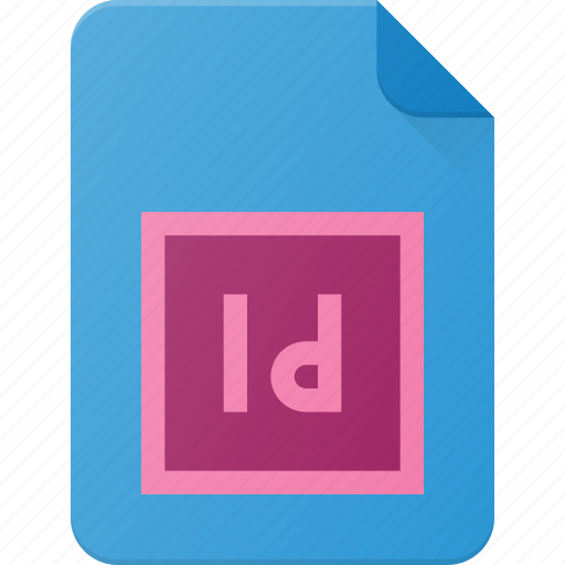 Design, extension, file, indd, indesign, page, type icon - Download on Iconfinder