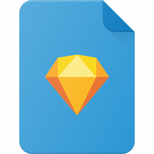 Design, extension, file, page, sketch, type icon - Download on Iconfinder