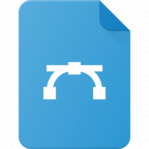 Curve, design, extension, file, page, type icon - Download on Iconfinder