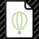 corel, draw, file, vector, document