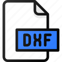 dxf, file, document