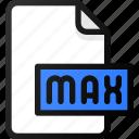 max, file, document