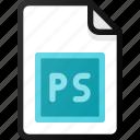 photoshop, file, document