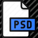 psd, file, photoshop, document