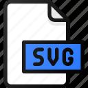 svg, file, document