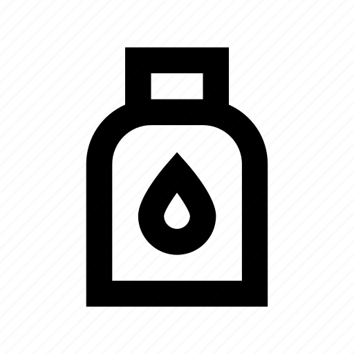 color jar, ink jar, inkpot, inkwell, paint jar icon