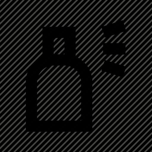 color bottle, color spray, spray bottle, spray can, spray container, wiping sprayer icon