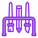 art, brush, design, pencil, tools icon