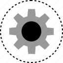 gear, options, settings, working icon