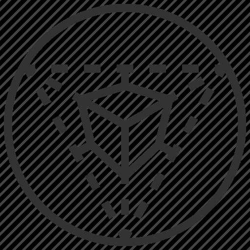 data, design, graphic, perspective icon