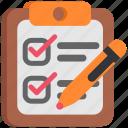 design, designthinking, job, mission, tablet, task, test, thinking icon