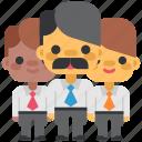 business, design, designthinking, manager, office, team, thinking icon
