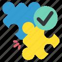 design, designthinking, goal, puzzle, target, thinking icon