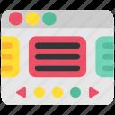 design, designthinking, page, presentation, slide, think, thinking icon