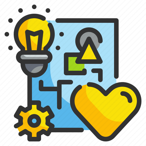 Design, feeling, heart, idea, love icon - Download on Iconfinder