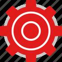 gear, options, settings, web icon