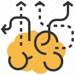 brain, business, creative, idea, marketing, seo icon