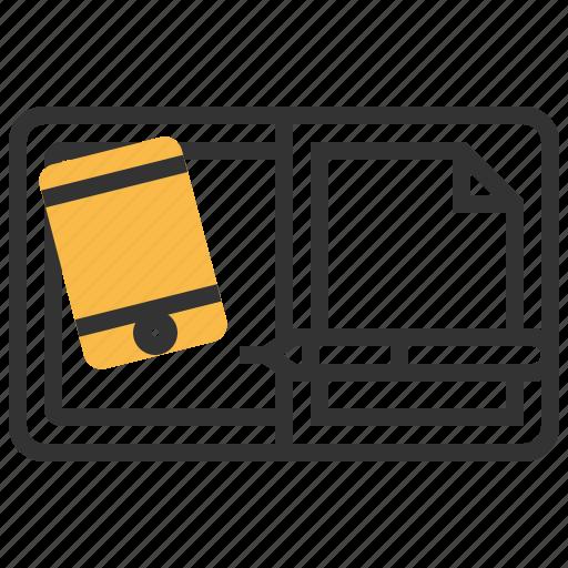 digital, document, file, paper icon