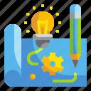 blueprint, browser, design, idea, prototype