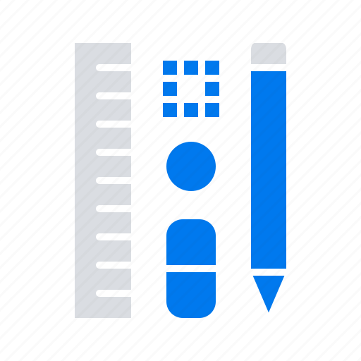 Education, pen, pencil, scale icon - Download on Iconfinder