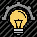 idea, innovation, lightbulb, creative, setting, education