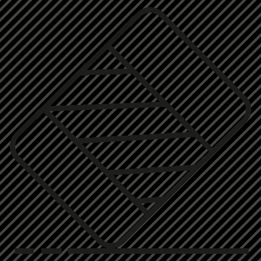 design, eraser, tool icon
