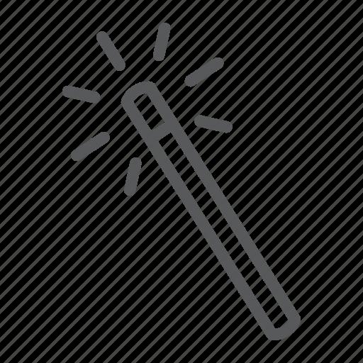 design, instrument, magic, soft, tool, wand, web icon