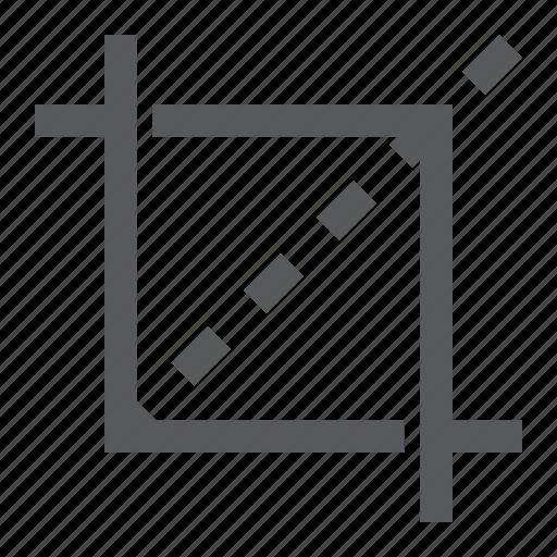 blade, crop, cut, design, instrument, soft, tool icon