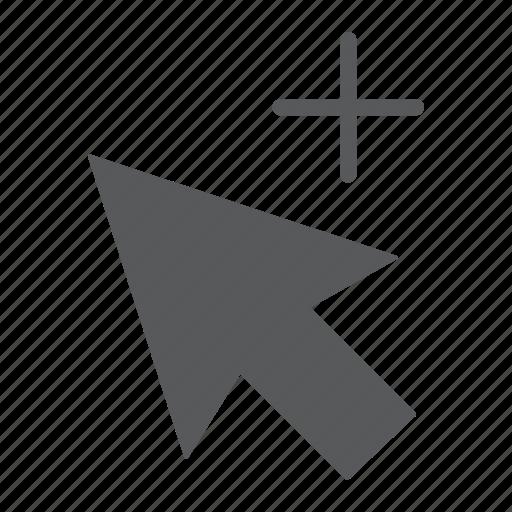 arrow, design, direction, group, plus, selection, tool icon