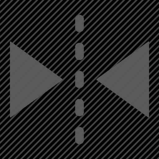arow, design, mirror, reflect, reflection, soft, tool icon