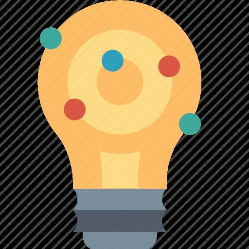 bulb, creative, idea, improve, innovation, light, modification icon